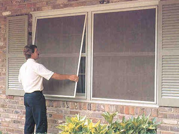 Mallas mosquiteras para ventanas materiales para la for Tela mosquitera por metros